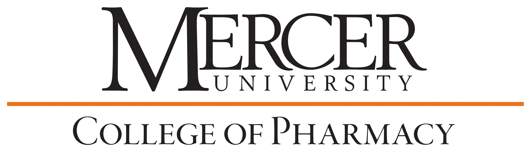 MercerWordmark_CollegeofPharmacy